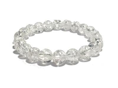 Bracelet cristal craquelé